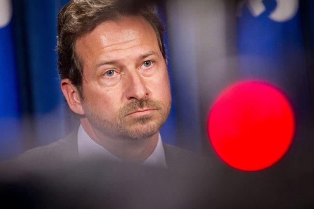 Le ministre de l'Environnement Yves-François Blanchet.... (Photo: Ivanoh Demers, La Presse)