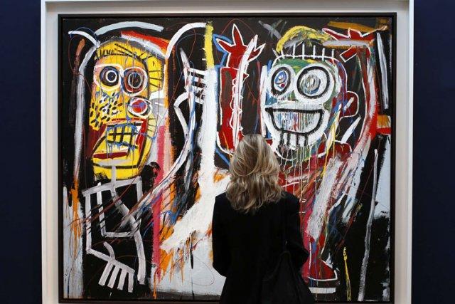 Dustheads de Jean-Michel Basquiat a trouvé preneur pour... (Photo: Reuters)
