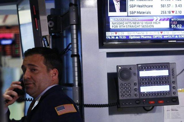En début de séance jeudi, le marché digérait... (Photo Reuters)