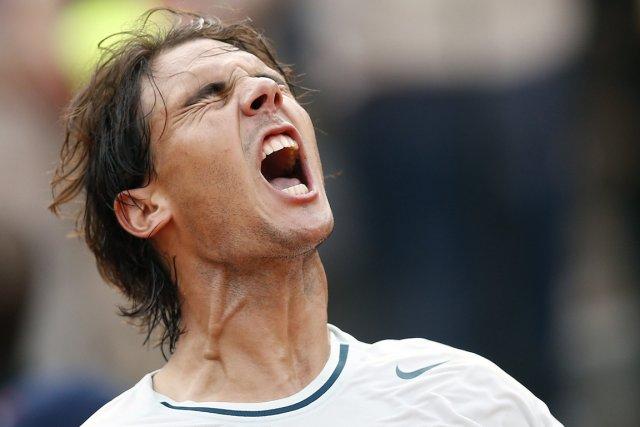 Rafael Nadal a battu difficilement le Letton Ernests... (Photo Tony Gentile, Reuters)