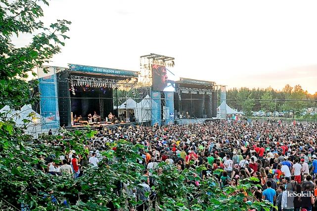 Après 20 ans de concerts, le festival de musique Woodstock en Beauce n'est... (Photo: archives Le Soleil)