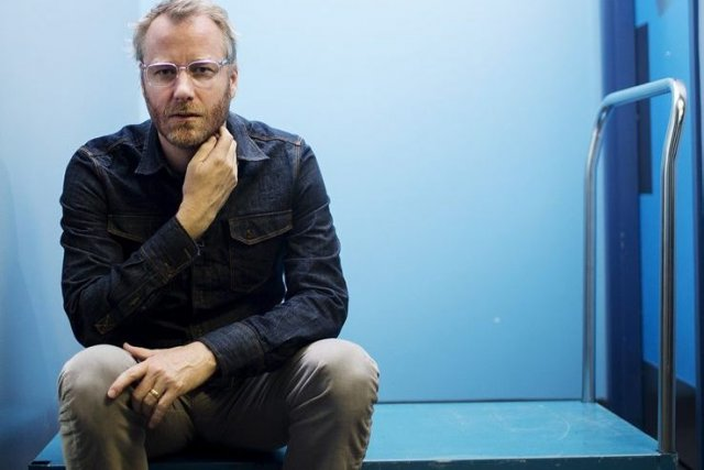 Matt Berninger, chanteur du groupe The National... (Photo: La Presse Canadienne)