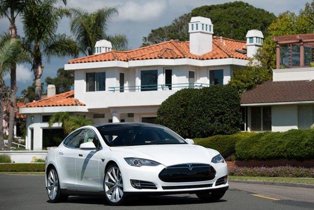 La berline de luxe électrique Tesla S.... (Photo fournie par Tesla)