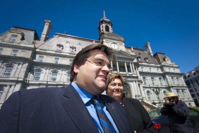 Le député fédéral Denis Coderre a lancé sa... (Photo André Pichette, La Presse)