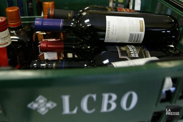 Les dirigeants de la Liquor Control Board of Ontario (LCBO) ont conclu une... (Photo: André Tremblay, Archives La Presse)