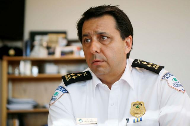 Le directeur du Service de police de la... (Simon Séguin-Bertrand, Archives LeDroit)