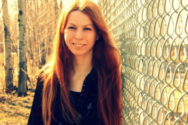 L'auteure de science-fiction Ariane Gélinas... (Photo: fournie par Marchand de feuilles)