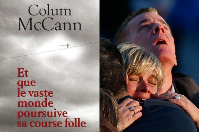 Un roman de l'écrivain irlandais Colum McCann vient d'être choisi par  l'école... (PHOTO ADREES LATIF, REUTERS)
