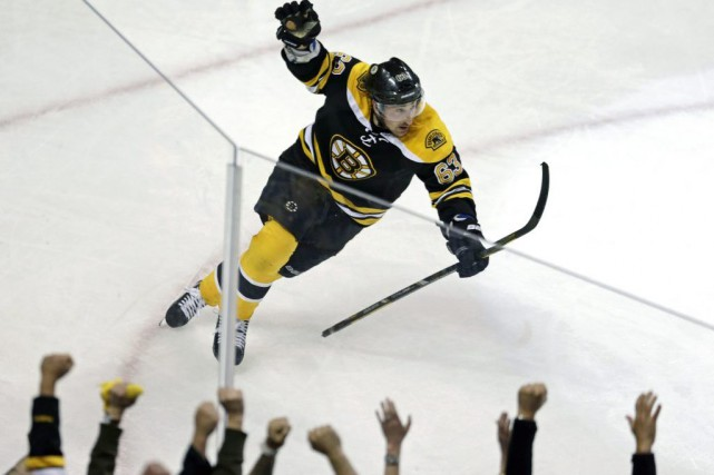 Brad Marchand... (Photo Charles Krupa, archives Associated Press)
