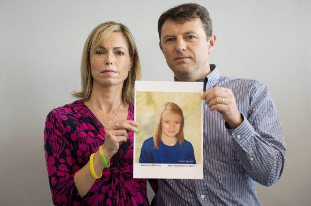Les parents de Madeleine McCann, disparueau Portugal en... (PHOTO LEON NEAL, AFP)