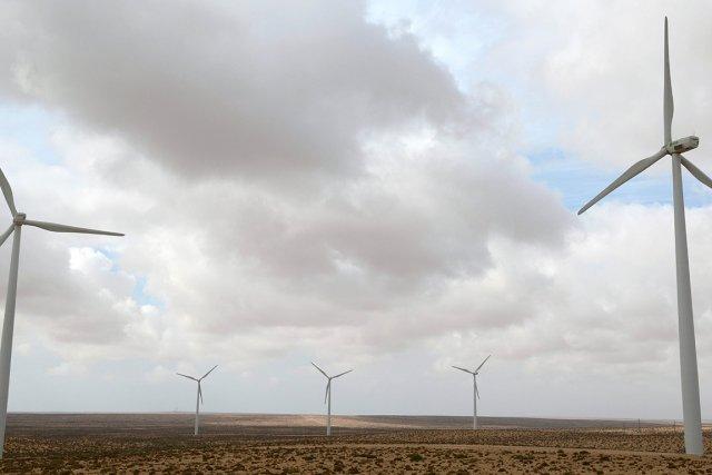 Des éoliennes en fonction dans  la région... (Photo: AFP)