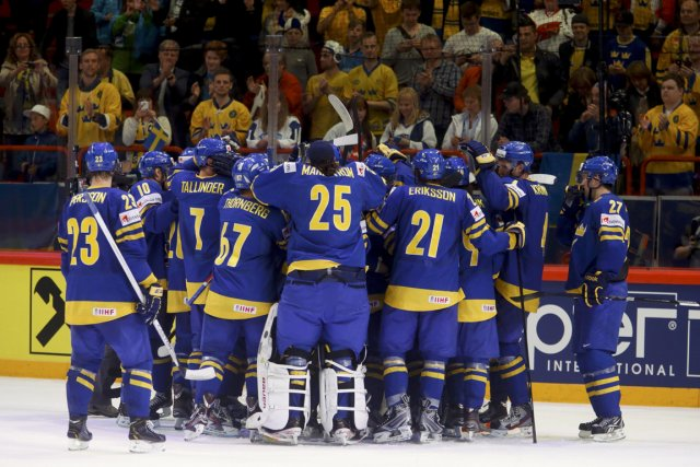En finale, la Suède affrontera le vainqueur de... (Photo : Arnd Wiegmann, Reuters)