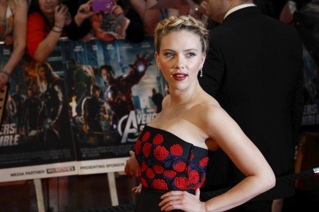 Scarlett Johansson... (Photo AFP)