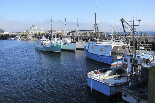 Sur la photo, le port de pêche de... (Photo: Rodolphe Lasnes, archives La Presse)