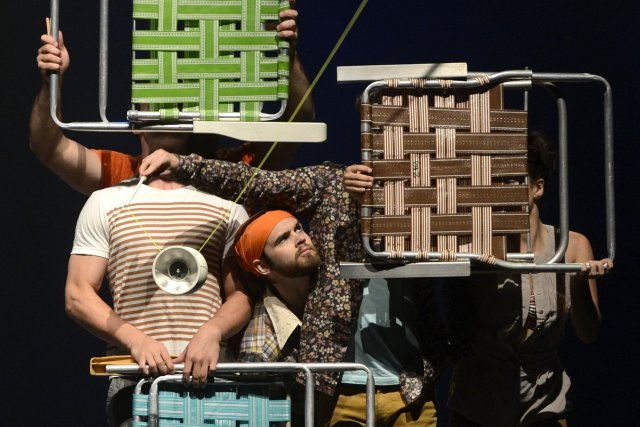 Le spectacle Attrape-moi devrait permettre à Flip Fabrique... (Photo Bernard Brault, La Presse)