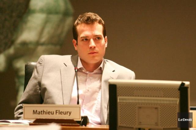 Le conseiller Mathieu Fleury.... (Archives, LeDroit)