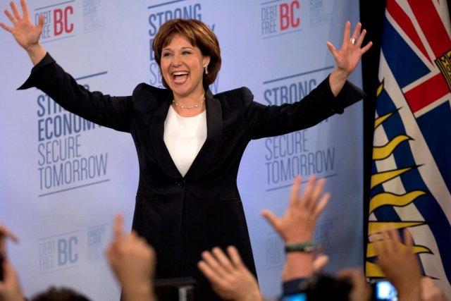 À la surprise générale, la Colombie-Britannique a donné... (La Presse Canadienne)