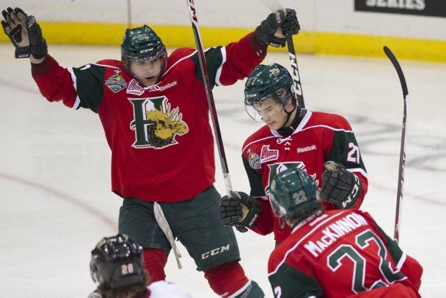 Les Mooseheads de  Halifax ont profité d'une... (Photo : Liam Richards, PC)