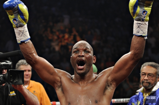 Bernard Hopkins... (Photo Bernard Brault, archives La Presse)