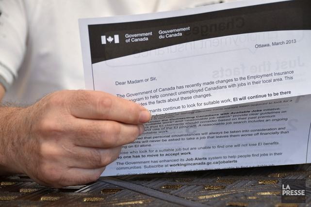 Plusieurs citoyens ont reçu une lettre du gouvernement... (Photo Maxime Sauvage, La Voix de l'Est)