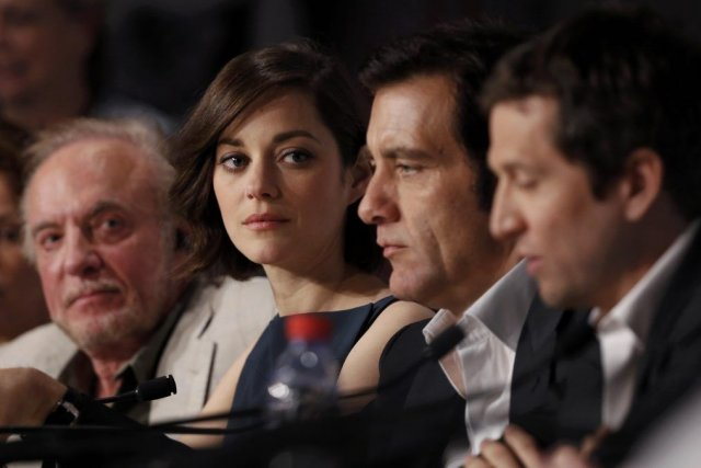 James Caan,Marion Cotillard, Clive Owen et Guillaume Canet.... (Photo Reuters)