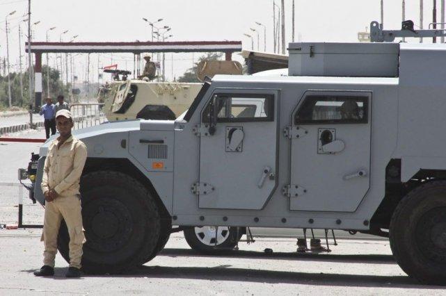 80 unités des Forces de la sécurité centrale... (PHOTO ROGER ANIS, EL SHOROUK NEWSPAPER, AP)