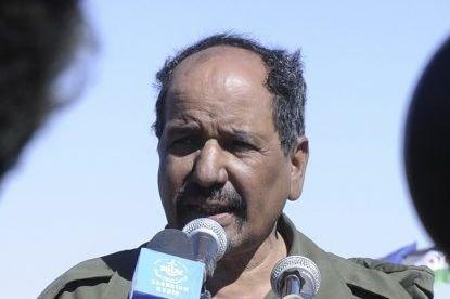 Le chef du Front Polisario, Mohamed Abdelaziz.... (PHOTO DOMINIQUE FAGET, AFP)