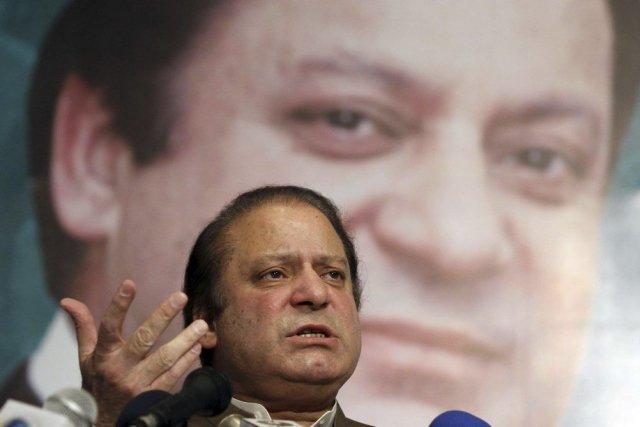 Le futur Premier ministre du Pakistan Nawaz Sharif.... (PHOTO ARIF ALI, AFP)