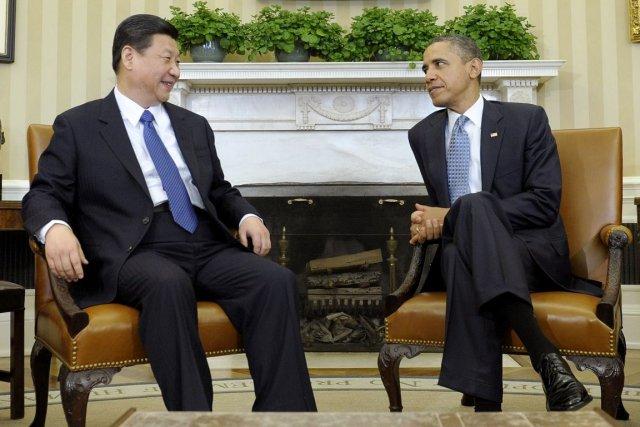 Le président américain Barack Obama en compagnie du... (Photo: Susan Walsh, AP)