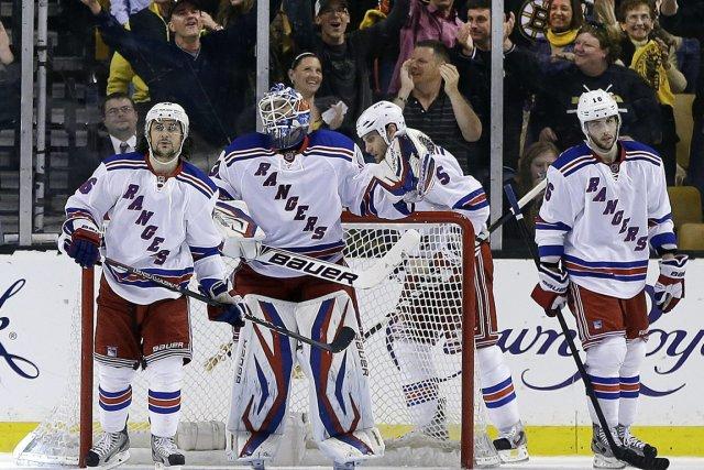 Les Rangers de New York tirent de l'arrière... (Photo Elise Amendola, AP)