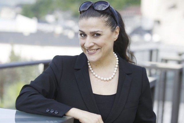 La cantatrice italienne Cecilia Bartoli... (Photo: archives AFP)