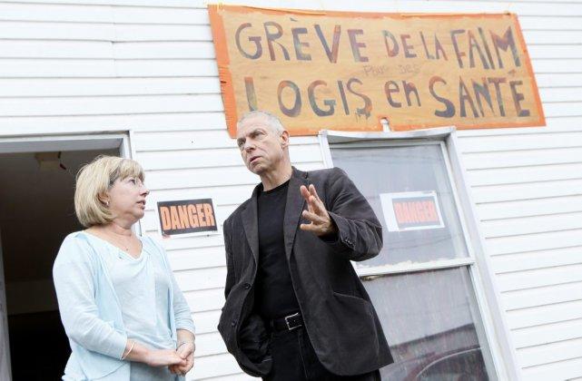 Tout en soulignant qu'elle n'approuve pas la grève... (Simon Séguin-Bertrand, LeDroit)
