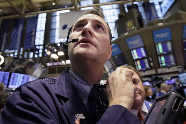 Les indices vedettes de Wall Street, le Dow Jones et le S&P 500, ont battu de... (Photo: archives AP)