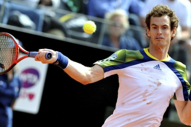 L'Écossais Andy Murray ne disputera pas Roland-Garros (26 mai-9 juin) en raison... (Photo AFP)