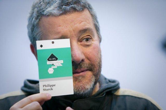 Le designer Philippe Starck a présenté une maison... (Andre Pichette)