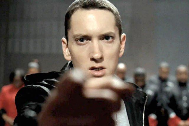 La compagnie de diffusion des chansons du rappeur Eminem poursuit le réseau... (Photo archives)