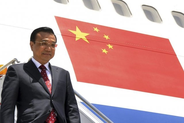 Li Keqiang... (Photo AFP)
