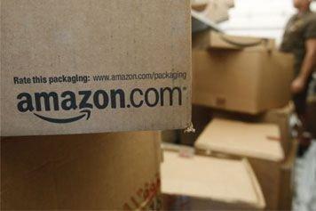 Le géant américain du commerce en ligne Amazon a dévoilé les plans de son... (Photo AP)