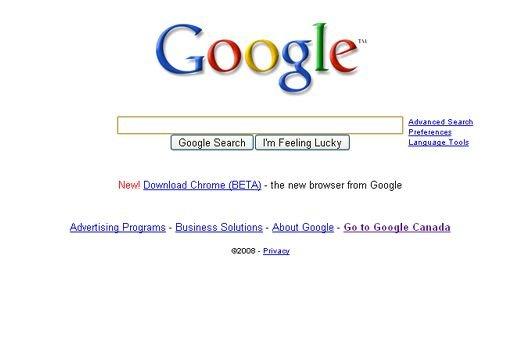 Le navigateur Google Chrome...