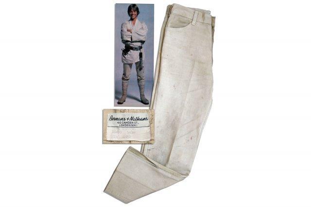 Le pantalon de Luke Skywalker... (Photo: AFP)