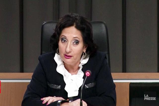 La juge France Charbonneau.... (Image La Presse)