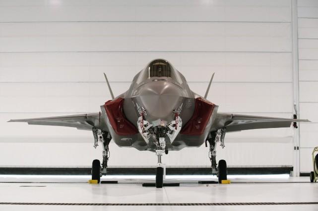 L'avion de chasse F-35.... (Photo Michael Spooneybarger, Reuters)