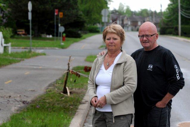 Gaétan Boisclair et sa conjointe Diane Laroche sont... (Photo: François Gervais)