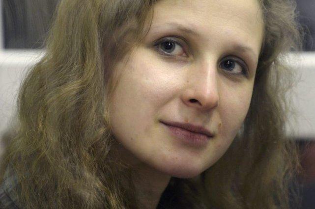 Maria Alekhina... (Photo Alexander Agafonov, Associated Press)