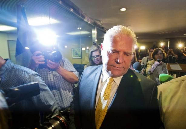 Le conseiller municipal torontois Doug Ford, frère de... (Photo: archives Reuters)