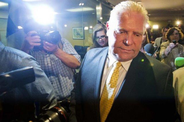 Le conseiller municipal Doug Ford s'est porté à... (Photo: Reuters)