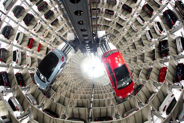 L'histoire de la ville de Wolfsburg, lieu du... (Photo : Sebastian Kahnert, AP)