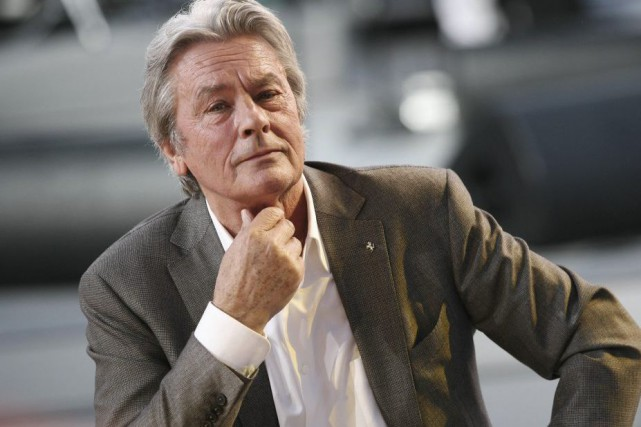 Alain Delon... (PHOTO ARCHIVES AFP)