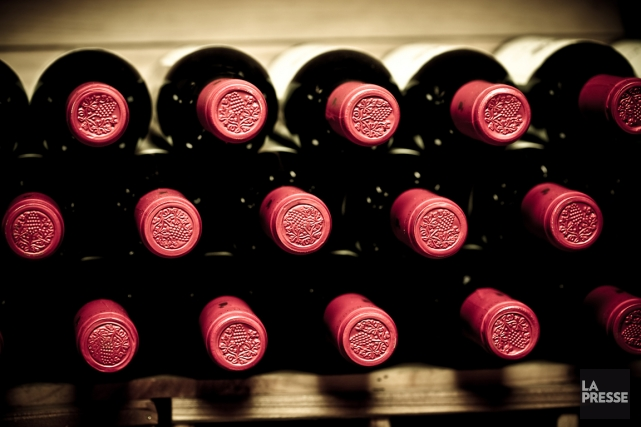 Les vendeurs de vins à l'étranger sont 58% à anticiper une progression  de... (PHOTOTHÈQUE LA PRESSE)