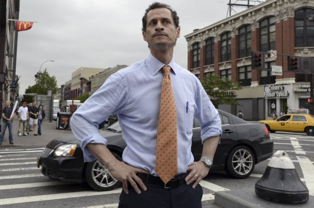 Anthony Weiner... (Photo Timothy Clary, Agence France-Presse)